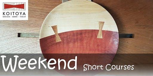Chigiri Plate Making - KOITOYA Woodworking Class 2019