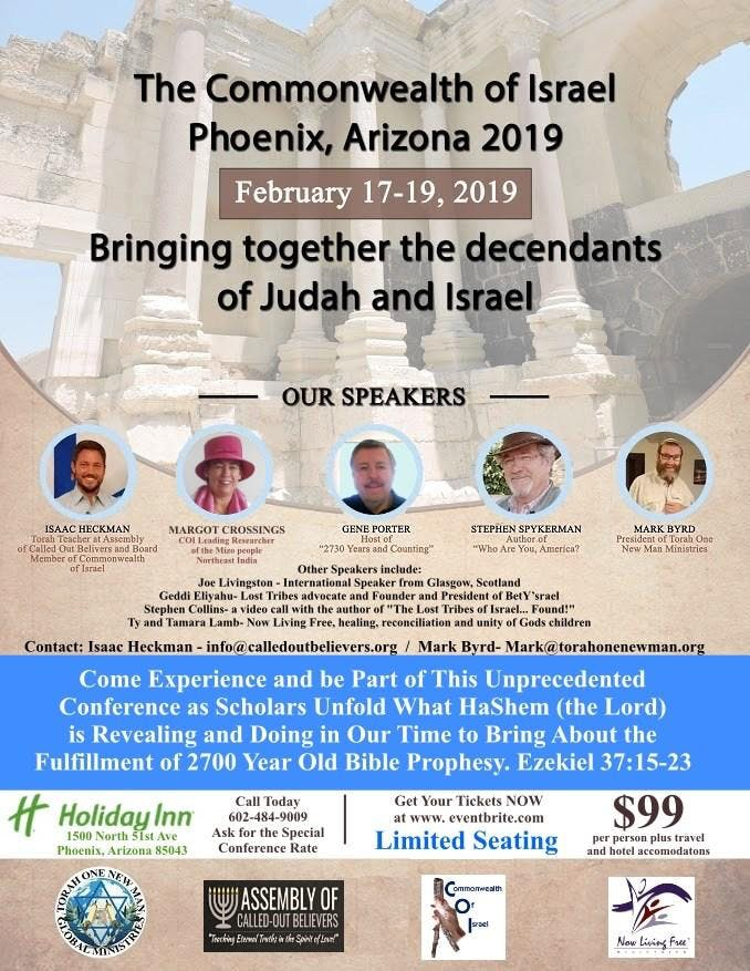 Commonwealth of Israel - 2019 Phoenix Conference