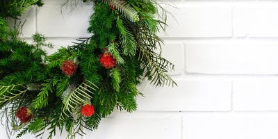 Wreath yourself into Christmas - Session One