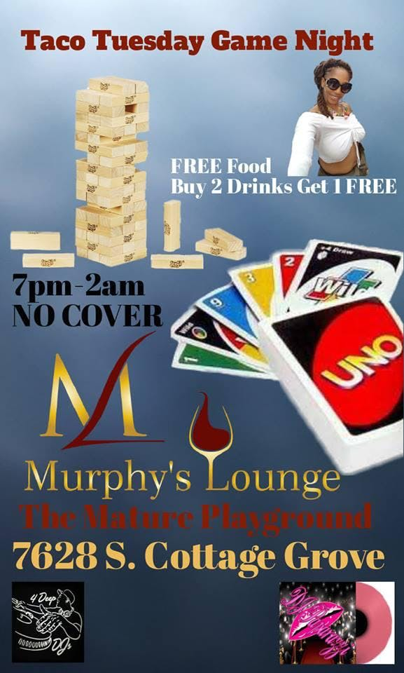 Taco Tuesday Game Night at Murphy's Lounge