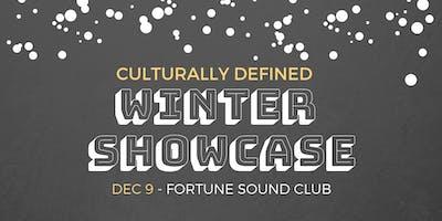 Culturally Defined Winter Showcase