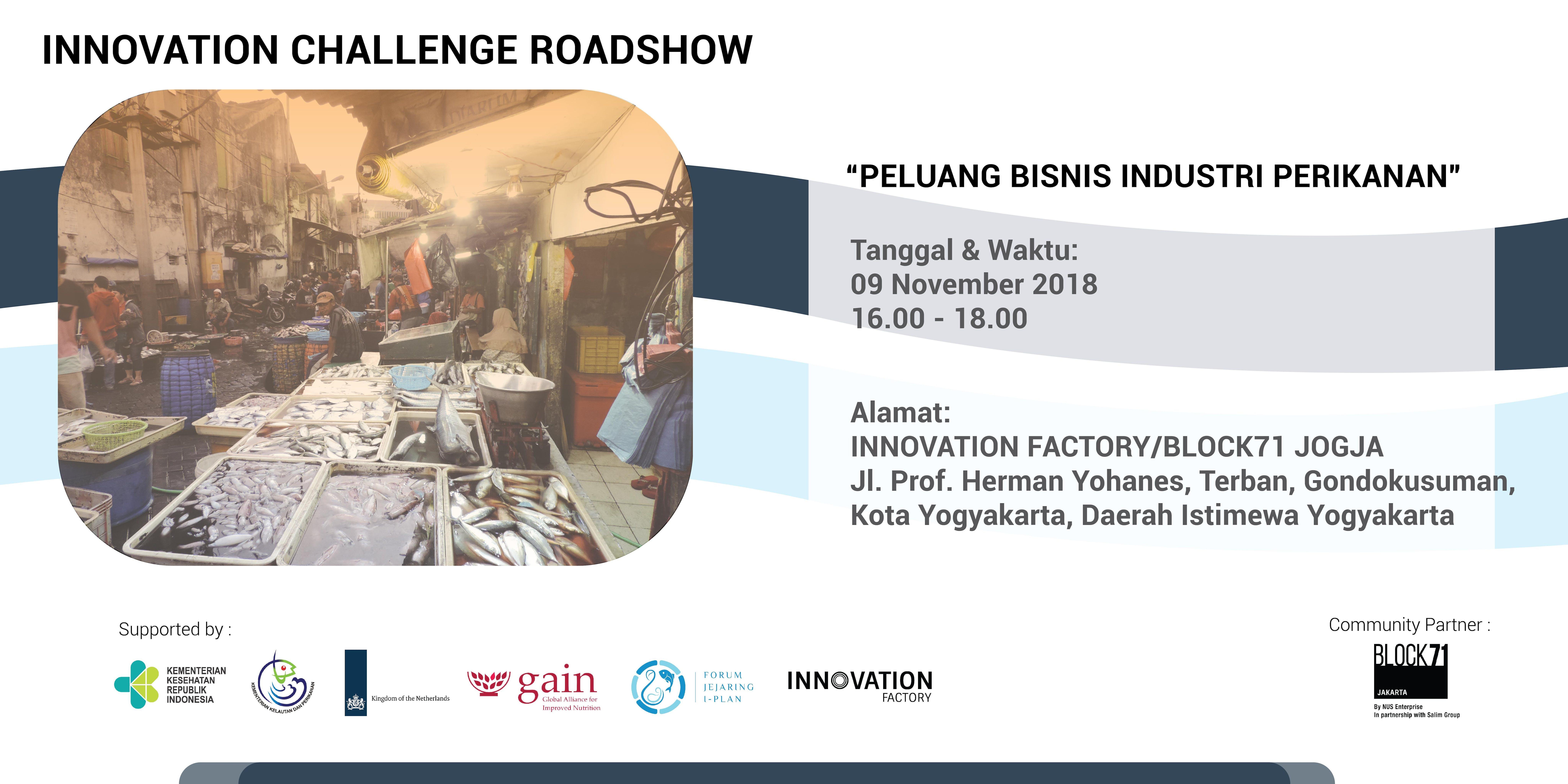 Iplan Innovation Challenge Present Peluang Bisnis Industri Perikanan