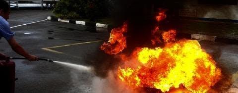 A-CERTS Training: WSQ Respond to Fire Emergen