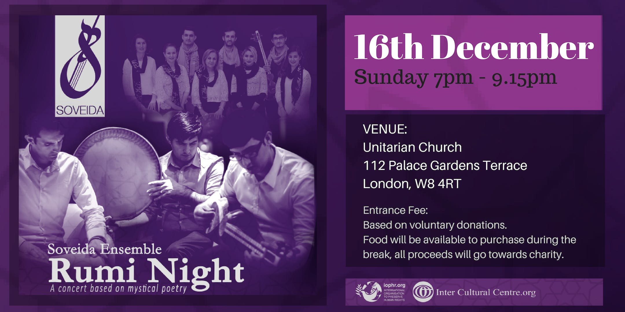Rumi Night - A Concert Based on Mystical Poet