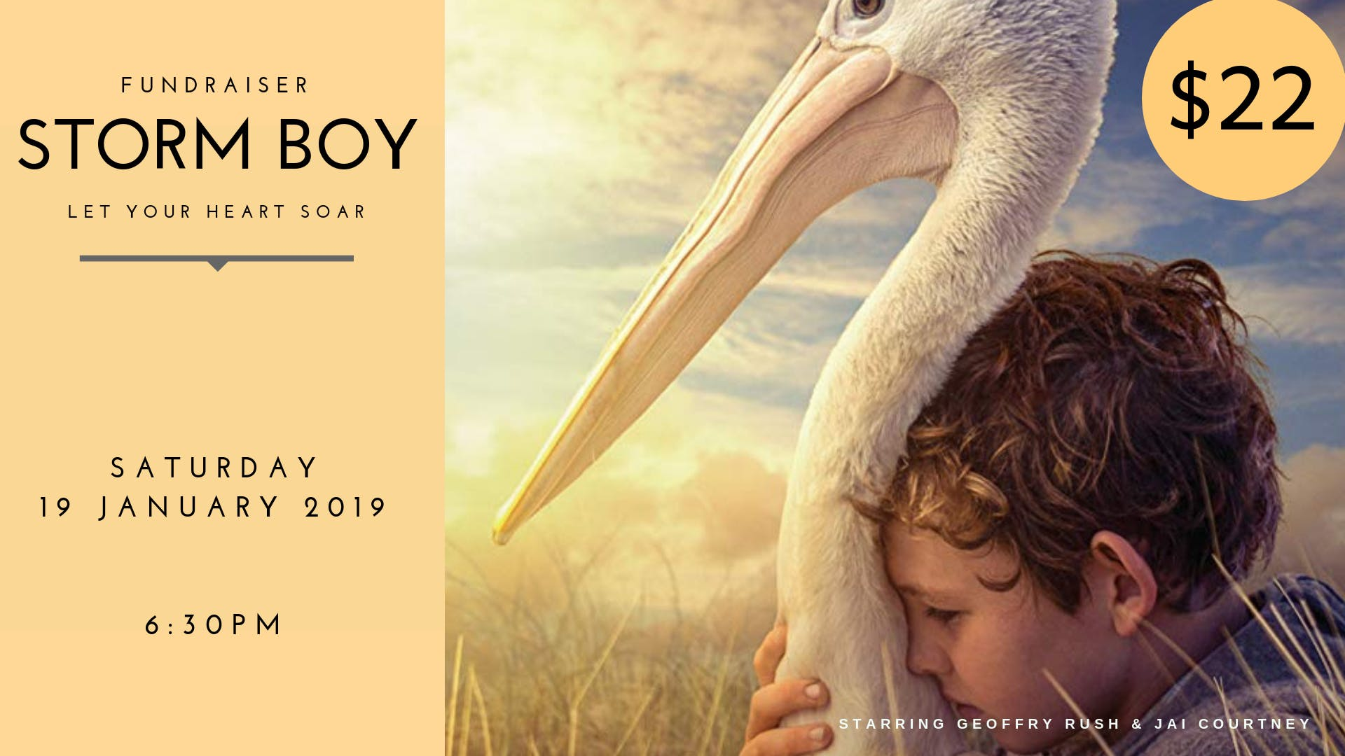 STORM BOY - FUNDRAISER MOVIE SCREENING