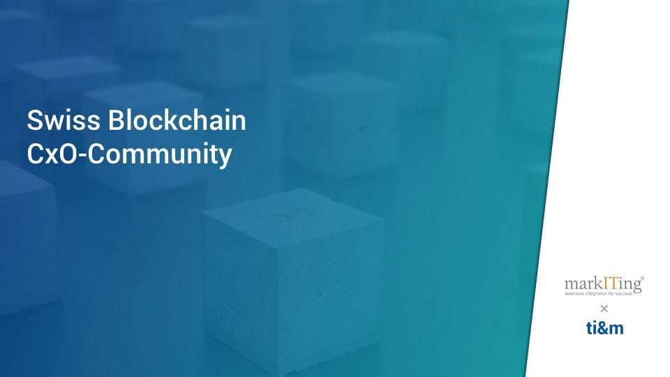 Swiss Blockchain CxO-Community