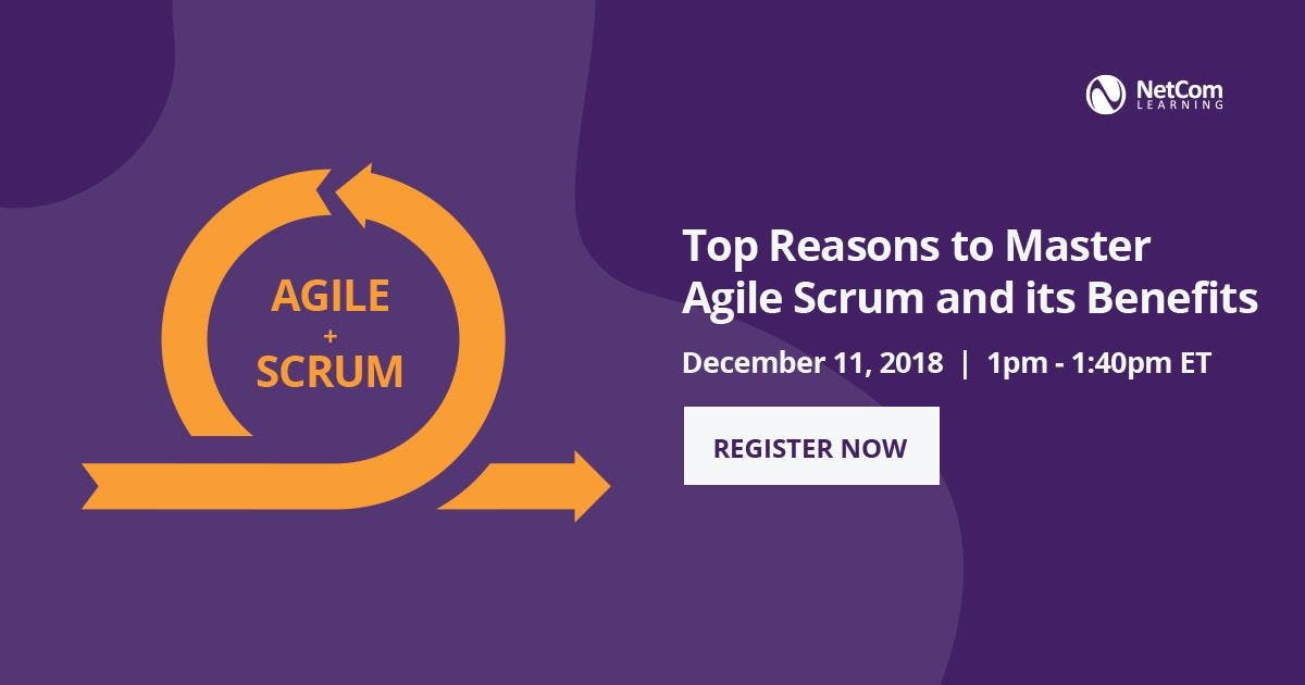 Virtual Event: Top Reasons to Master Agile Sc