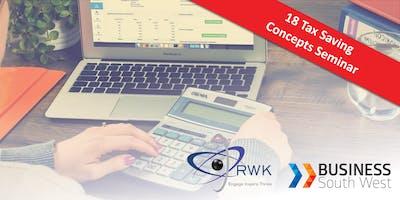 18 Tax Saving Concepts Seminar - Bunbury