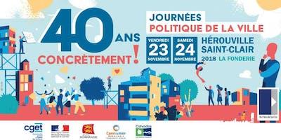 40 ans, concrètement ! Journées Politique de la Ville