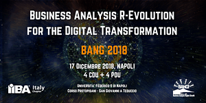 BANG 2018 - Business Analysis R-Evolution for the...