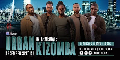 December Urban Kizomba & Douceur Special in Rotterdam by Mode Zéro