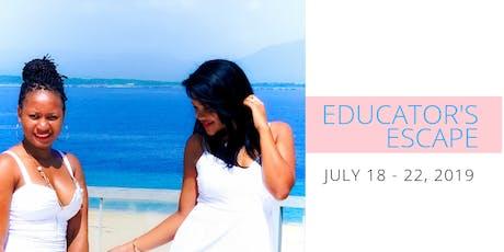 Educator's Summer Escape tickets