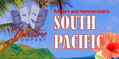 South Pacific (Fri./19th) tickets