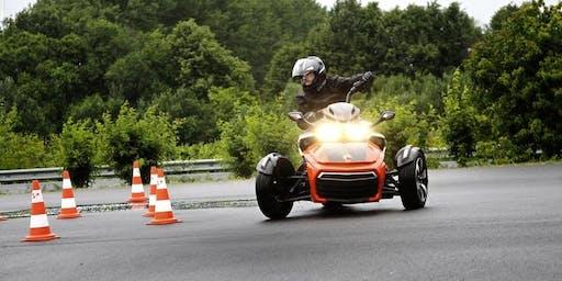 Can-Am Spyder Fahrsicherheitstraining Level 2 in Gründau