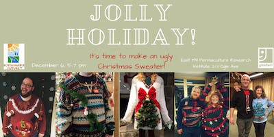 Ugly Christmas Sweater Workshop at ETPRI