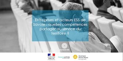 """Matinale à Chambéry : \""""Entreprises et acteurs ESS de Savoie : quelles compétences partager au service du territoire ?\"""""""