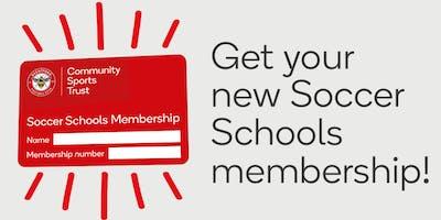 Soccer Schools Membership