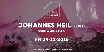 Johannes Heil @ MannyGreen | Play Different