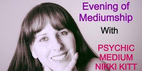 Evening of Mediumship with Nikki Kitt - Melksham tickets