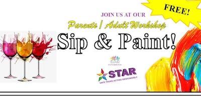 Parent/Adult Sip & Paint