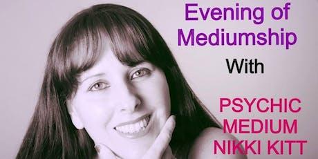 Evening of Mediumship with Nikki Kitt - Bridport tickets