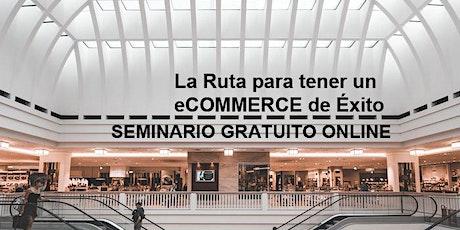 Seminario Gratuito Online Marketing eCommerce entradas