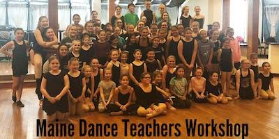 January Maine Dance Teachers Club Workshop