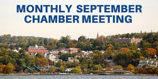 Monthly September Chamber Meeting