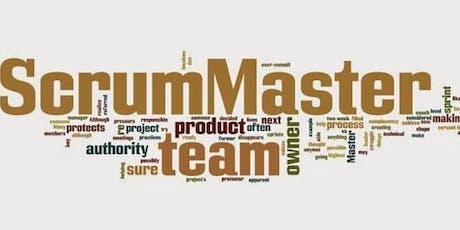 Agile Scrum Master Outubro/2019 - SP - final de semana com mentoria para PSM-I ingressos