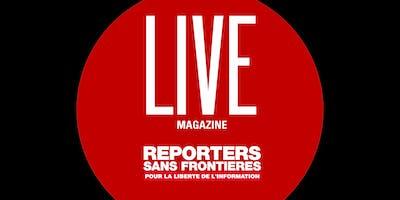 Live Magazine Reporters sans frontières