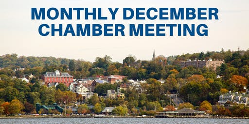 Monthly December Chamber Meeting and Holiday Celebration