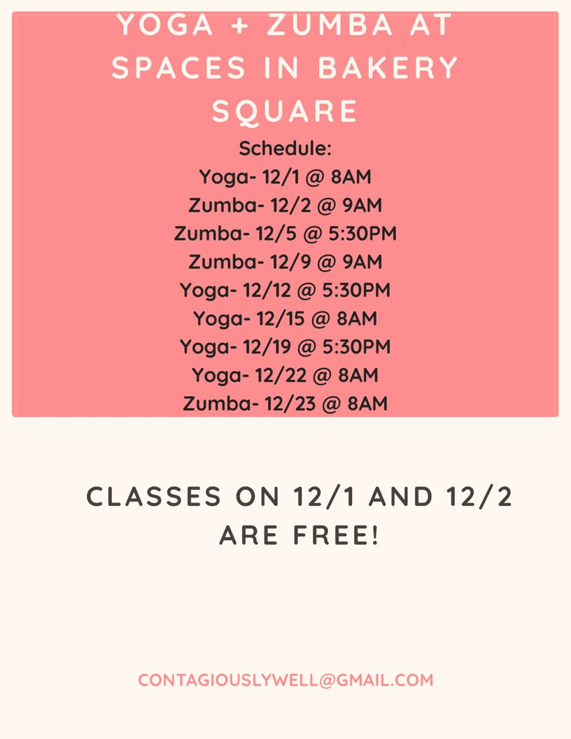Yoga at SPACES in Bakery Square