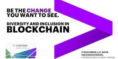Diversity in Blockchain Happy Hour sponsored by Accenture | Hyperledger Global Forum (Basel, Switzerland)