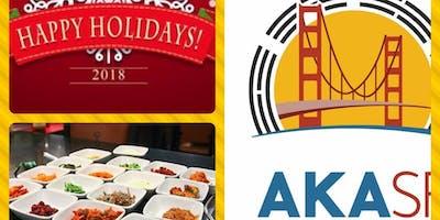Holiday Dinner 2018 AKA-SF