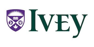 Ivey EMBA Information Session - Toronto