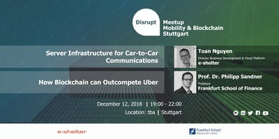 Disrupt Meetup | Blockchain and the Car of the Future