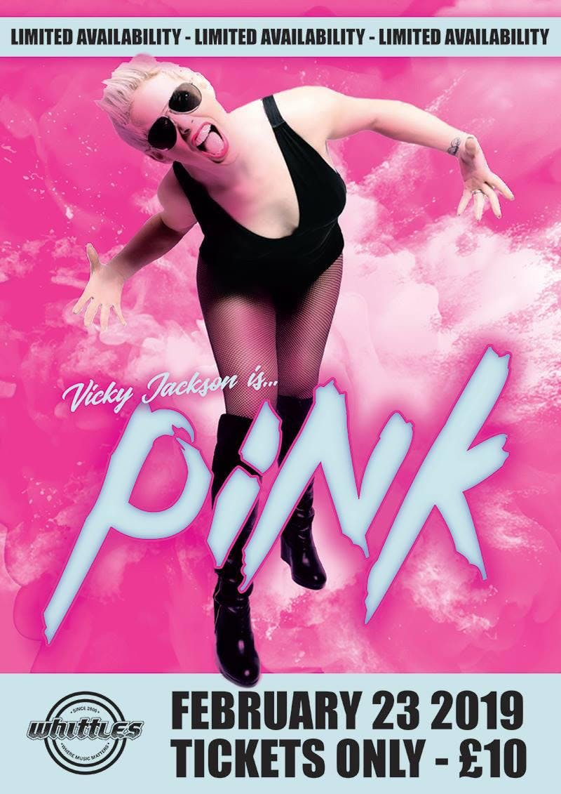 Pink Tribute - By Vicky Jackson