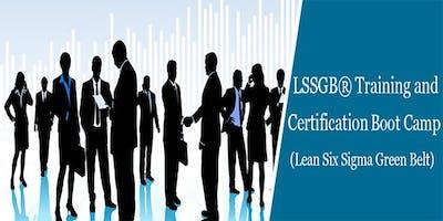 Lean Six Sigma Green Belt (LSSGB) Training in Raleigh, NC