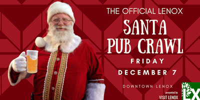 Lenox Santa Pub Crawl