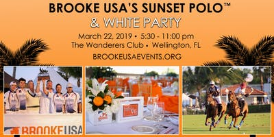 Brooke USA's Sunset Polo™ & White Party