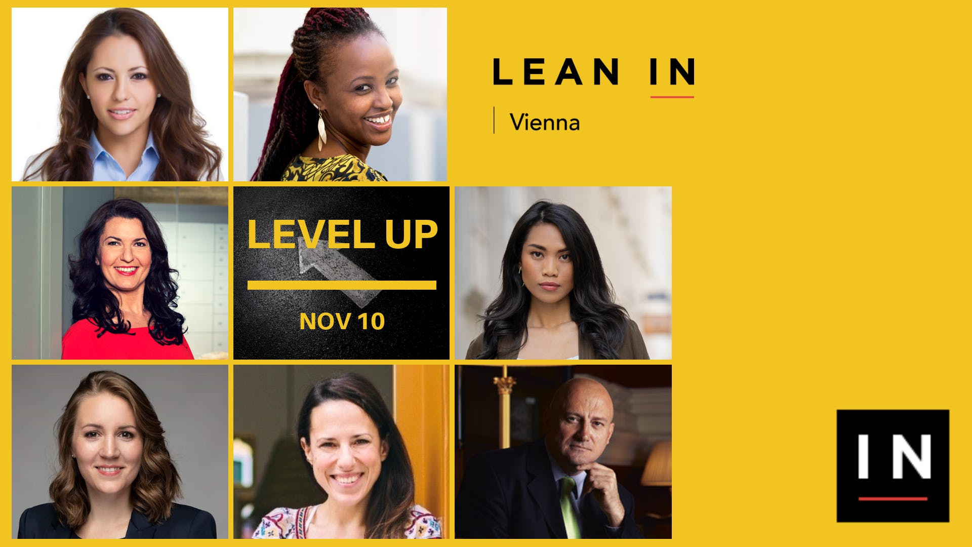 LEVEL UP: A LEAN IN VIENNA event to equip wom