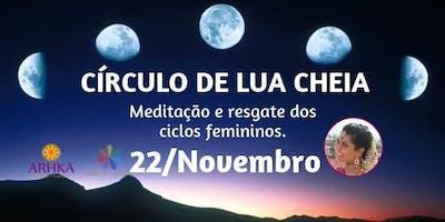 Círculo de Mulheres: Meditação da Lua Cheia com Sri Devi   Outubro   Sp