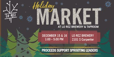 Holiday Market at Lo Rez Brewery & Taproom