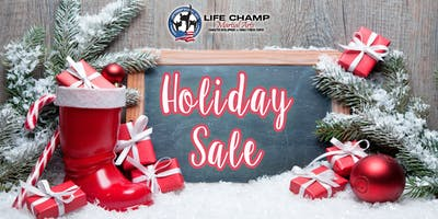 Life Champ Martial Arts - Holiday Sale (Reston)