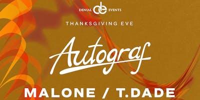 AUTOGRAF @ Basement Miami | Thanksgiving Eve