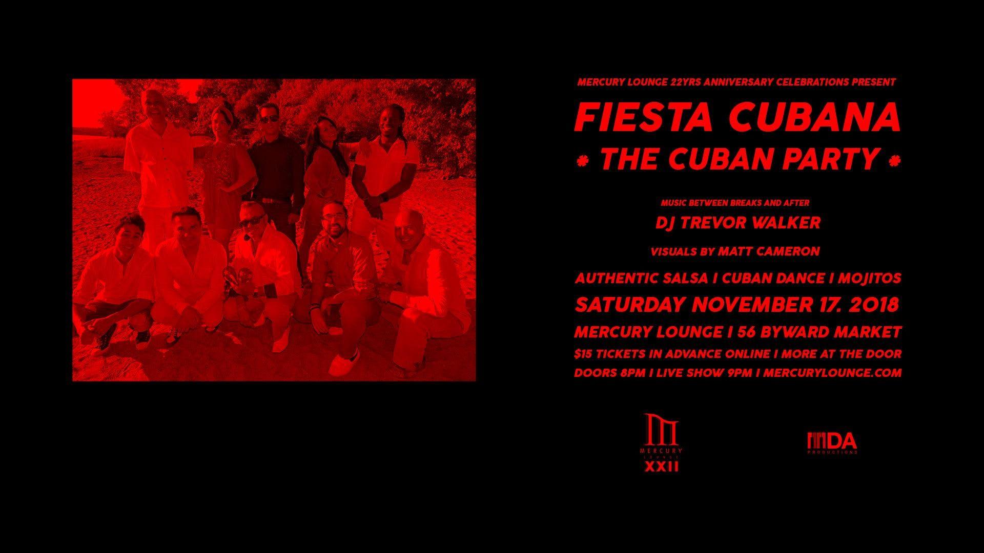 FIESTA CUBANA - THE CUBAN PARTY