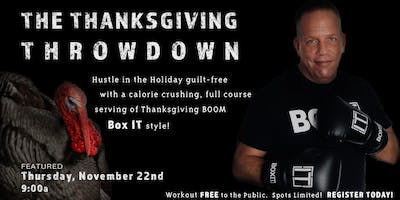 Thanksgiving Throwdown!
