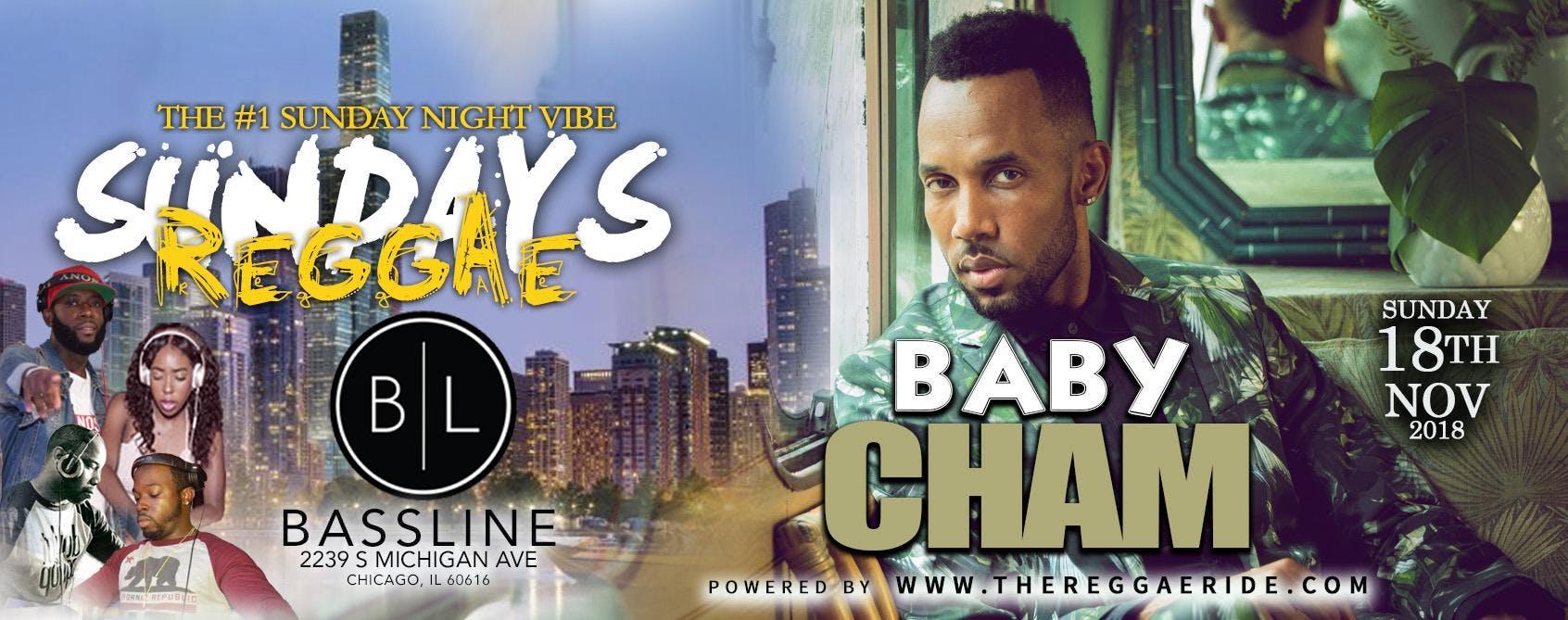 Baby Cham(Live) at REGGAE SUNDAYS (Chicago)