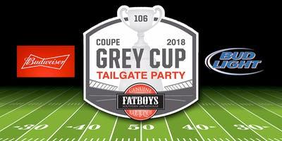 Fatboys  - 2018 Grey Cup Tailgate Party