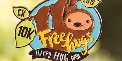 2019 Happy Hug Day 5K & 10K - Winston-Salem